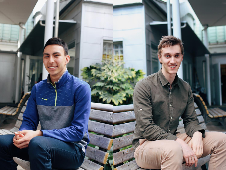 Senior Profiles: Kenichiro Bernier and Nico van Houten