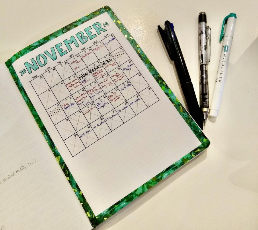 Bullet Journaling: Staying Organized, Artfully