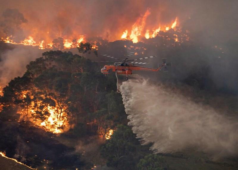 The Burning of Australia