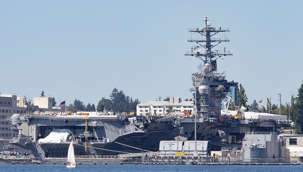 """CVN-68 USS Nimitz"" by Clemens Vasters is licensed under CC BY 2.0"